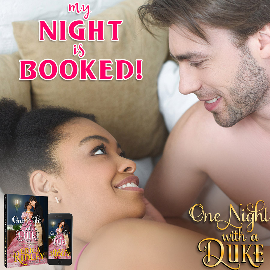 My Night is Booked - One Night with a Duke by Erica Ridley